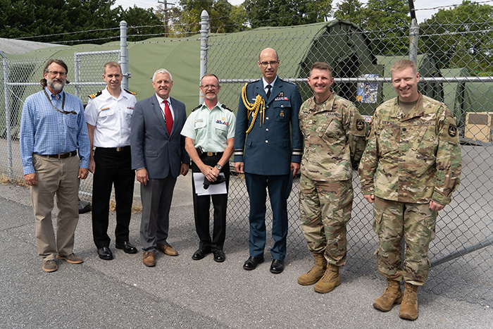 JPC-1 and TATRC leaders engage with Maj. Gen. Downes and Canadian senior leaders