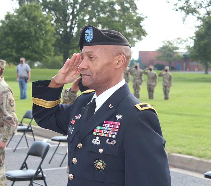Click for larger image of Brigadier General Michael Talley