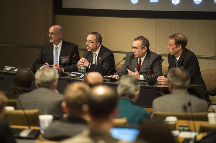 Topic speakers address questions during the 2015 International State-of-the-Science Meeting