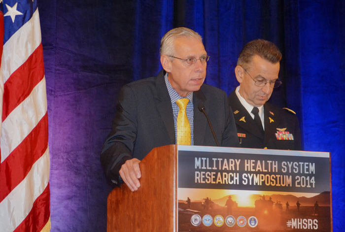 Dr. Terry Rauch and Col. Dallas Hack
