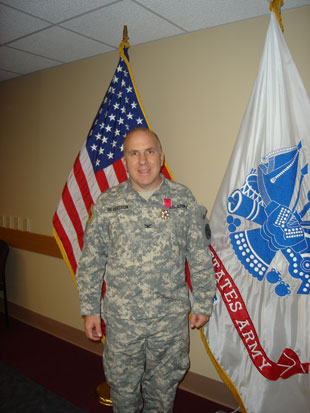 Col. David G. Gilbertson awarded Legion of Merit Photo by Thomas Moore