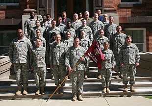 The Walter Reed Army Institute of Research's U.S. Army Dental Research Detachment located in Great Lakes, Ill. had a casing ceremony March 24
