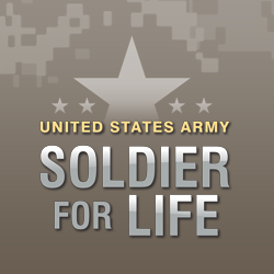 Soldier For Life logo