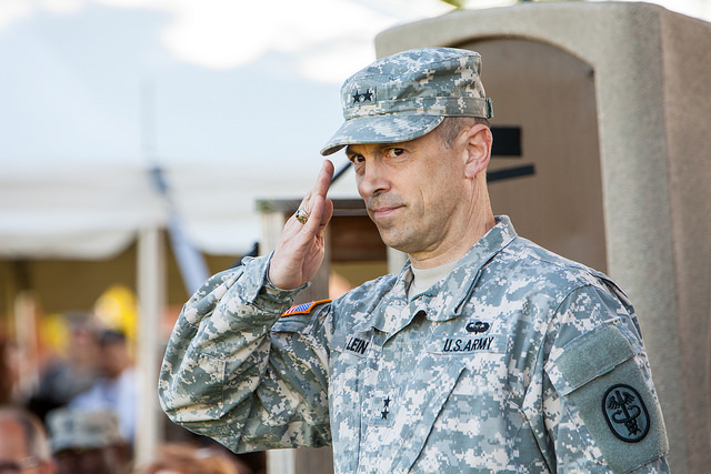 USAMRMC Says Goodbye to MG Lein