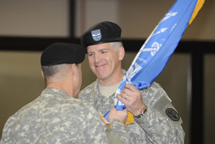 Col. Russell Coleman is now the commander of USAMMDA.