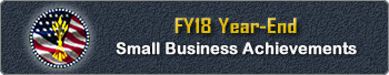 Office of Small Business Programs - FY 18 Achievements
