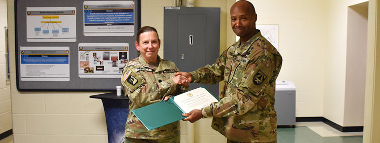 Lt. Col. Sandi K. Parriott Reaches Pinnacle of Army Excellence