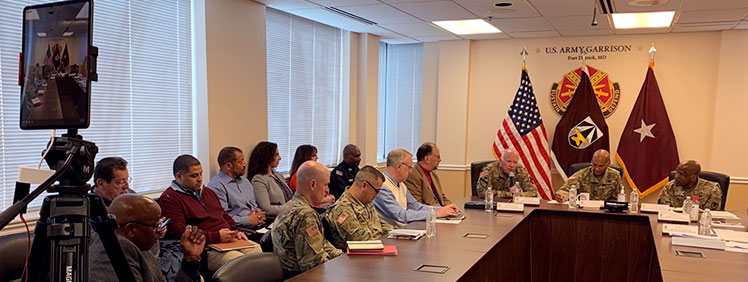 USAMRDC, Fort Detrick Take Lead in Tackling COVID-19