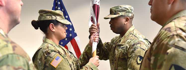 Army Medical Materiel Agency Hosts Detachment Change of Command