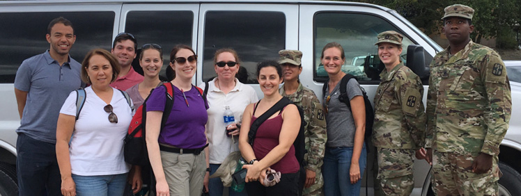 USAMMDA team members participate in 32nd Hospital Center validation exercise