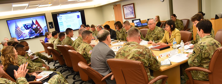 USAMRMC Talks Output, Impact with Senior Leader