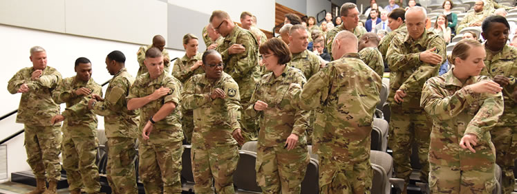 Same Goal, Same Mission: Town Hall Marks USAMRMC Redesignation to USAMRDC